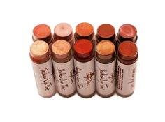 Try Cowgirl Dirt's Yeehaw Lip Tints for a long lasting look. Our lightly citrus flavored lip tints are formulated to soothe and deeply hydrate your lips while adding the perfect color to finish off the cowgirl picture. $10.99