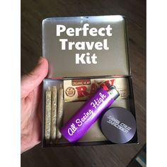 This as a wedding favor😍 a personalized lighter, some joints, and mints maybe. Weed, Medical Marijuana, Cannabis, Naughty Kids, Stoner Gifts, Puff And Pass, Pipes And Bongs, Smoking Accessories, Travel Kits