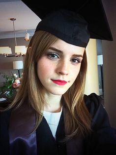Emma Watson Graduates From Brown University! - Us Weekly.  Congrats to Emma!!!