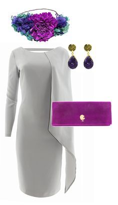 ideas for hair gray purple purses Modest Fashion, Love Fashion, Fashion Outfits, Cocktail Outfit, Dream Dress, Dress To Impress, Beautiful Dresses, Marie, Party Dress