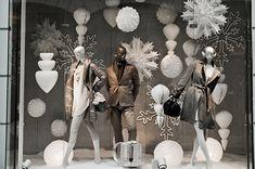 K&Ö Ice Princess Christmas windows, Graz  visual merchandising
