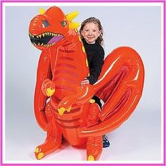 When you're having a knights and dragon party or birthday celebration, inviting this friendly inflatable vinyl dragon is a must! Dragon Birthday Parties, Dragon Party, Birthday Celebration, Boy Birthday, Pool Toys, Oriental Trading, How To Train Your Dragon, Party Games, Halloween Party