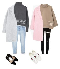 """Sweater with Big coats"" by eriarai on Polyvore featuring MANGO and Gucci"