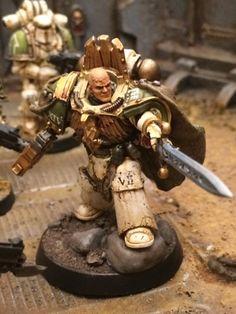 Battle Bunnies: Pre-Knight Errant Nathaniel Garro (Pre-Heresy Death Guard) conversion and paint guide