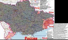 2015.08.08-09 Военно-гуманитарная карта Новороссии и Малороссии. Карта по состоянию на вечер 9 августа 2015 года.