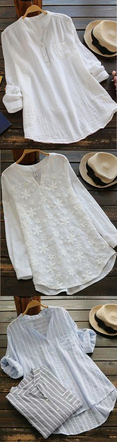 Casual Tops for You.Take It for Coming Spring Summer.Shop Now! casual tops for you. Sewing Dresses For Women, Sewing Clothes Women, Clothes For Women, Dress Sewing, Comfy Travel Outfit, Travel Outfit Summer, Dress Summer, Diy Bags No Sew, Sewing Shirts