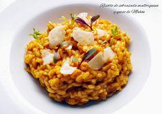 Fentdetutto: Risotto de sobrasada Mallorquina y queso de Mahón