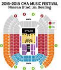 Ticket  (2) Tickets  2017 CMA Music Fest  Sect. Q  Row 28 (FLOOR SEATS)  4 Day Pass #deals_us