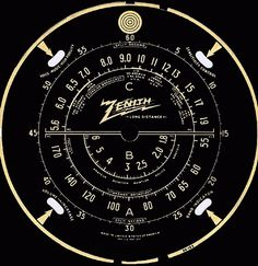 No idea what it all means, but I dig the design of this radio dial.