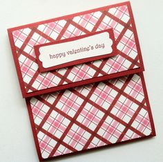 Gift Card Holder Valentine's Day Gift Card Holder by TerrysCards