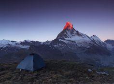 Morning fire Of Matterhorn © Karol Nienartowicz