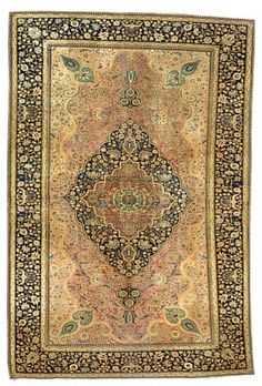 "KASHAN ""MOHTASHAM"" RUG  CENTRAL PERSIA, CIRCA 1890  6ft.5in. x 4ft.3in. (196cm. x 130cm.)  I Christie's Sale 7039"