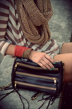 Nice handbag & scraf