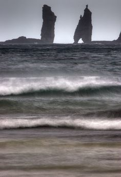The Giant and the Witch, Faroe Islands.