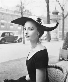 1950's #fashion #hat #vintage