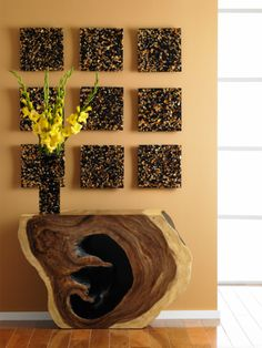 The Captured Rose Gold Flake Vase, contemporary design inspired by nature from the Phillips Collection, a leader in unique home decor. Available in Gold / Black color, small and large size. This vase add a sophisticated touch to your home decor with this Privilege Resin Vase.