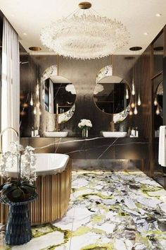Whether we like to talk about it or not, the time we spend in the bathroom is precious. It's where some of our most intimate moments take place. So not only should it function well, it should be designed for optimal comfort and luxury.#interiordesign #luxurydesign #luxuryprojects #interiordesignprojects #luxury bathrooms #bathroomdesign