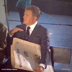 William Shatner- during Priceline commercial