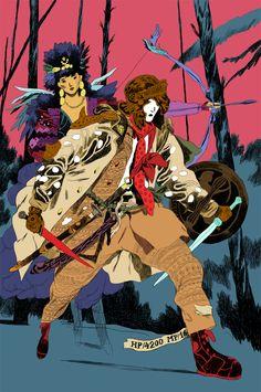 Warrior & Archer             Final Fantasy
