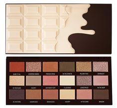 Chocolate Eyeshadow Palette, Chocolate Palette, Nude Eyeshadow, Eyeshadows, Face Makeup Kit, Beauty Makeup, Eye Makeup, Makeup Stuff, Huda Beauty