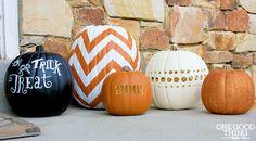 5 Simple DIY Pumpkins by @Jillian Mangrum Lee #MPumpkins