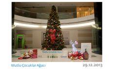 Plazamız tatil, ancak ailemiz çocuklar için hediye alışverişinde. :)