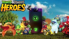 Plants vs. Zombies Heroes, A Mobile Collectible Card-Based Strategy Game
