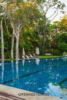 The Byron at Byron, in you guessed it, Byron Bay NSW Australia, is such a peaceful location for our LIFE by DESIGN Retreats. The pool isn't bad either! The Byron, Byron Bay, Transform Your Life, Gate, Australia, Outdoor Decor, Design, Portal