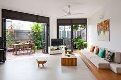 Ngôi nhà có sân vườn cực đẹp ở Sài Gòn khiến báo Tây không tiếc lời khen ngợi | aFamily