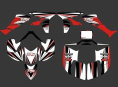 (69.99$)  Buy here  - 0351 New STYLE  DECALS STICKERS  Graphics Kits Fit for Honda TRX450R 450R fourtrax ATV