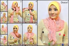 How way of wearing scarf to not too tight in neck area and head? Hijab Bride, Pakistani Wedding Dresses, Pashmina Hijab Tutorial, Turban Hijab, Leopard Fashion, Hijab Fashion Inspiration, Turban Style, Loop Scarf, Spring Fashion Trends