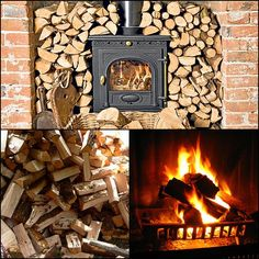 Burning wood is cheaper, just need to know what to attach