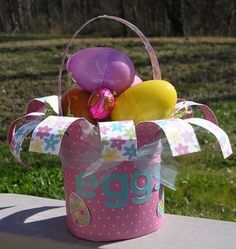 Homemade Easter Baskets & Paper Baskets - Tip Junkie