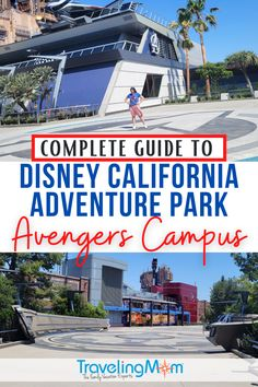 Super heroes assemble at Avengers Campus inside Disney's California Adventure park at the Disneyland Resort! Get the details on how to maximize your time at this newly opened Marvel themed land including scoring a virtual queue for WEB SLINGERS: A Spider-Man Adventure, mobile ordering for Pym Test Kitchen & how to tour the land with kids. (Photo credits: Julie Bigboy) #Disneyland #HeroesAssemble #AvengersCampus #Marvel #DisneyTravel #TravelwithKids #FamilyTravel Disneyland Tips, Disneyland California, Disneyland Resort, California Travel, Disney Vacation Club, Disney Vacation Planning, Disney Vacations, Disney Rides, Disney Parks
