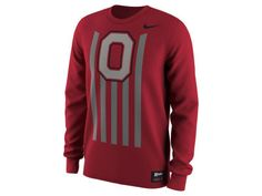 Nike NCAA Men's Throwback Long Sleeve T-Shirt