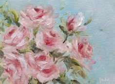 A gallery of daily painting by Heidi Shedlock Gallery, Flowers, Pink, Paintings, Art, Art Background, Paint, Hot Pink, Painting Art