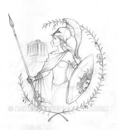 A couple of days ago i was reading some bedtime stories to my little brother,they were about the Greek gods and i was surprised that despite being greek and named after one i had never drawn any my...