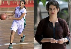Miraya Vadra, a daughter of Priyanka Gandhi grabbed focus of the centre for all as she was on the field playing basketball match along with the team from Haryana. Basketball Federation of India is holding 42nd Sub-Junior Basketball Championship at Rajiv Gandhi National Stadium, Puducherry.