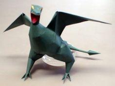 3D Dragon Papercraft Model 300x225 3D Dragon Papercraft Model
