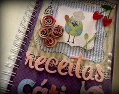 Caderno De Receitas Alegre