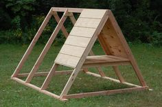 Dark Dozens - The Chicken Tractor Building the coop The chicken tractor is approximately 7 by 7 feet. The coop section is approximately 3 x 4 feet. I used standard and pressure treated lumber to frame the tractor. The coop section is made.