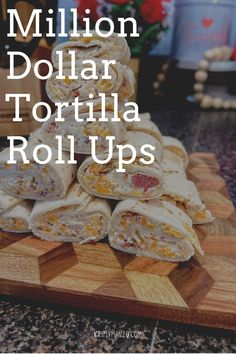 #tortillas #cheeseball #recipe #recipes #recipeideas #recipeoftheday #recipeoftheweek #recipeisontheblog #recipesforone #appetizer #appetizerrecipes #appetizersnacks #appetizerideas Tortilla Rolls, Roll Ups Tortilla, Tortilla Recipe, Best Lunch Recipes, Snack Recipes, Favorite Recipes, Sandwich Recipes, Delicious Recipes, Easy Recipes