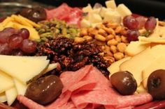 How to Plan an Amazing Wine and Cheese Party - Tips for building the most beautiful platters with flavorful ingredients that will wow your guests!  Super-easy...  Can't wait to do this again!