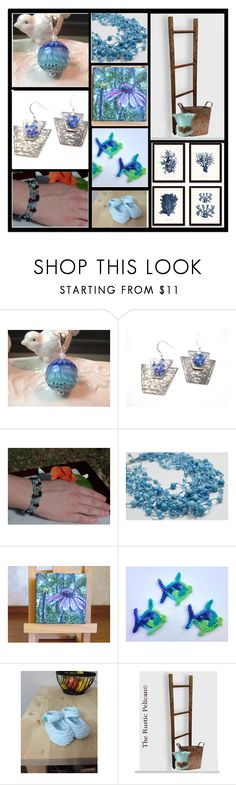 Thursday Blues by inspiredbyten on Polyvore featuring мода