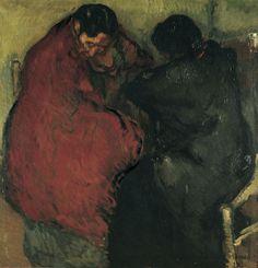 Isidre Nonell (Espagne, 1872-1911) – Dues gitanes (1903) Museu Nacional d'Art de Catalunya, Barcelona