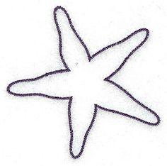 Starfish outline small<br> 2.85w X 2.87h, John Deer's Adorable Ideas - ClipArt Best - ClipArt Best
