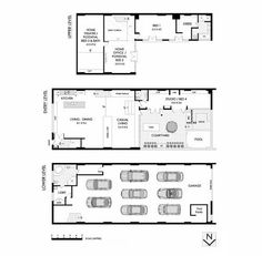 Warehouse loft house plans