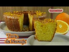 TORTA DE NARANJA muy fácil, deliciosa y perfecta. - YouTube Cornbread, Frosting, Cake Recipes, French Toast, Muffin, Cooking Recipes, Favorite Recipes, Baking, Breakfast