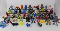 BIG LOT 41 Action Figure mixed Fisher Price Imaginext Hasbro DC Starwars Marvel  #Various