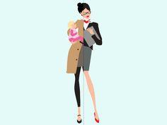 Las mujeres de la Generación Y y las Madres Alfa, dos conceptos de mujer preparados para el futuro.